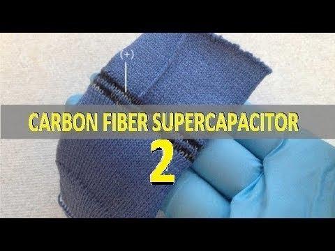 Carbon fiber Supercapacitor 2