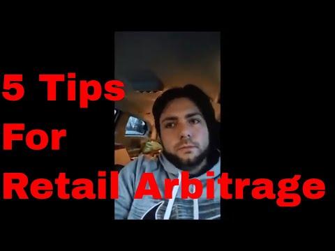 Top 5 Tips for Retail Arbitrage - Make Money on Amazon