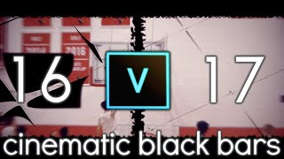 How to Add Black Bars (Widescreen) In Vegas Pro 15 - 2018.
