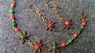 Earrings, bangles snowflakes and stars for Christmas 124
