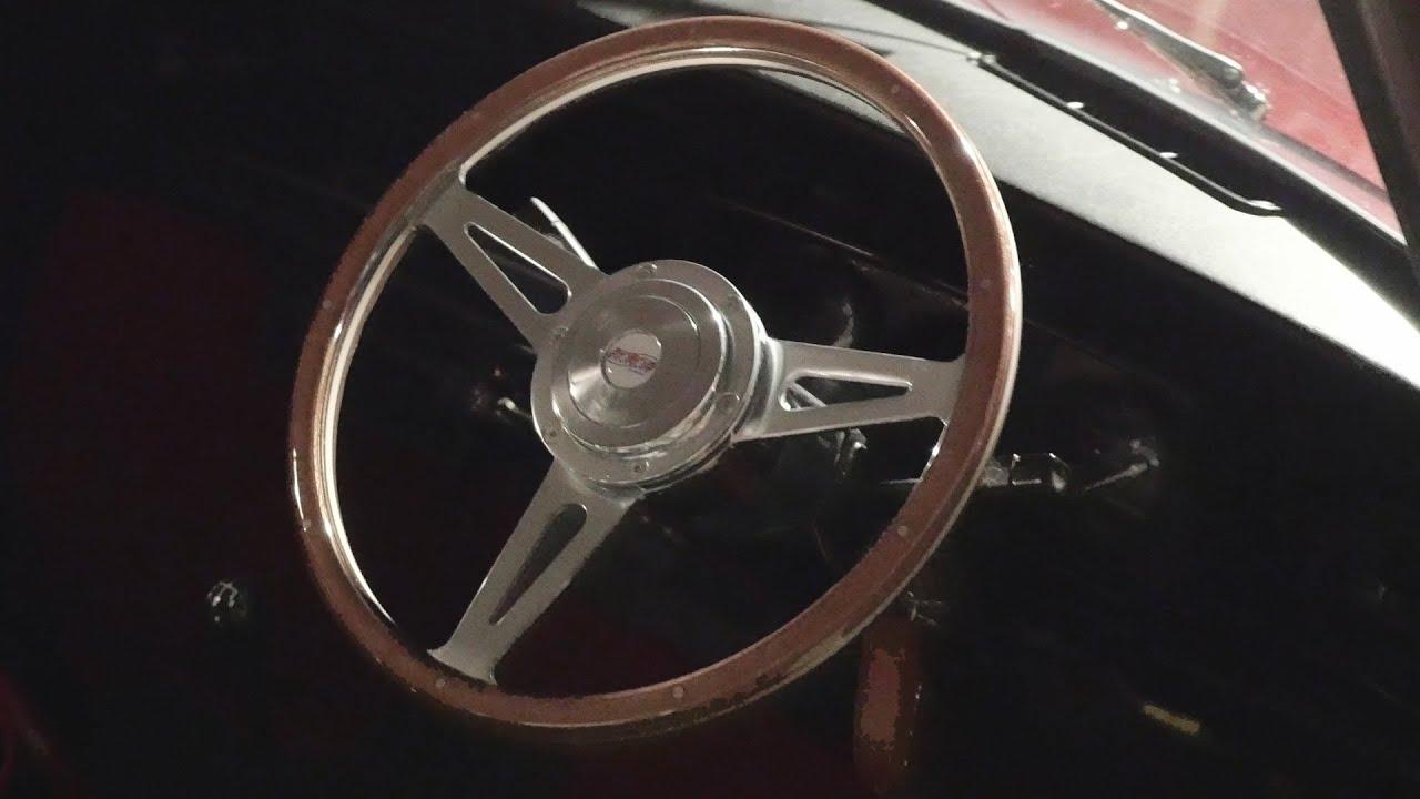 Replacing My 1989 Austin Mini 30 Steering Wheel - YouTube