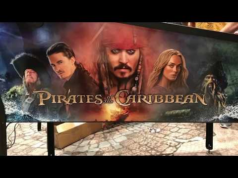 SDTM Exclusive: Jersey Jack Pinball  Pirates of the Caribbean Fly-By Video