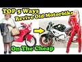 Top 5 Ways To Revive An Old Motorcycle - On The Cheap