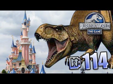 Jurassic World at Disney Land!    Jurassic World - The Game - Ep 114 HD