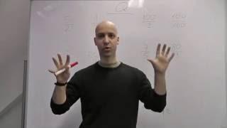 Středoškolská matematika - Číselné obory 11 - Porovnání dvou zlomků