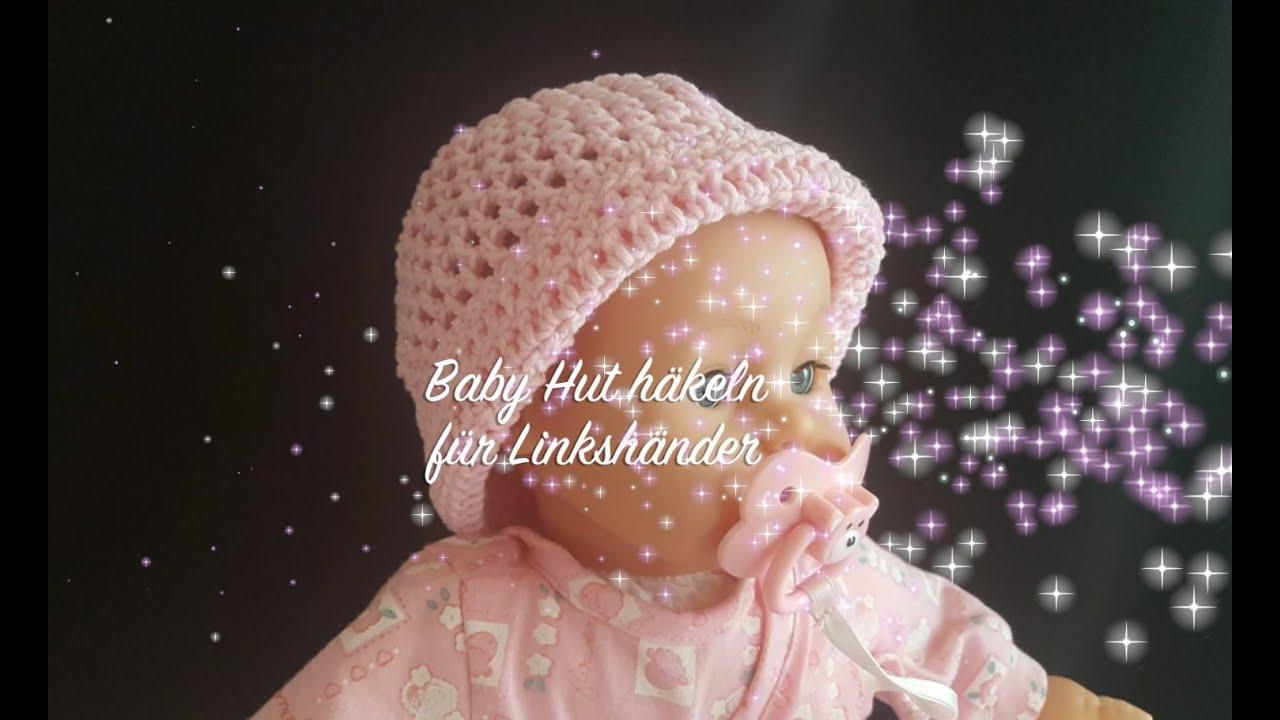 Baby Hut häkeln - Baby Mütze häkeln - Kindermütze Häkeln - Häkeln ...