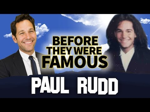 PAUL RUDD  Before They Were Famous  AntMan Biography