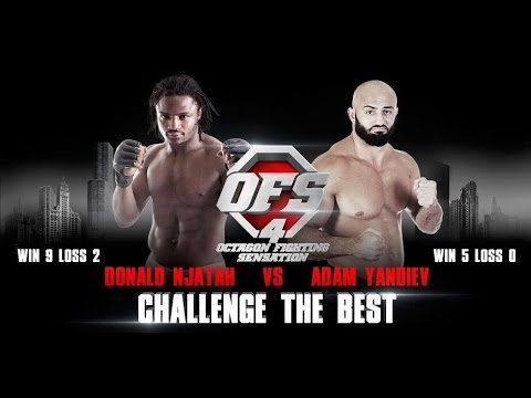 OFS-4 Donald Njatah vs Adam Yandiev