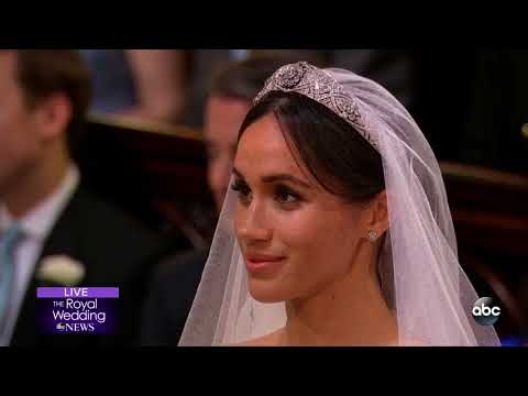 ROYAL WEDDING   Prince Harry and Meghan Markle are announced husband and wife