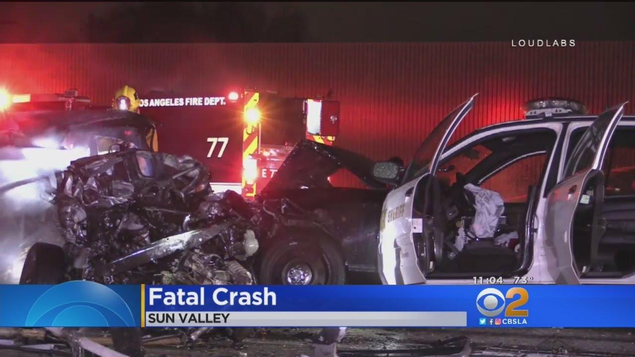 Fatal Chain Reaction Crash Snarls Traffic On Sb 5 Freeway In Sun Valley
