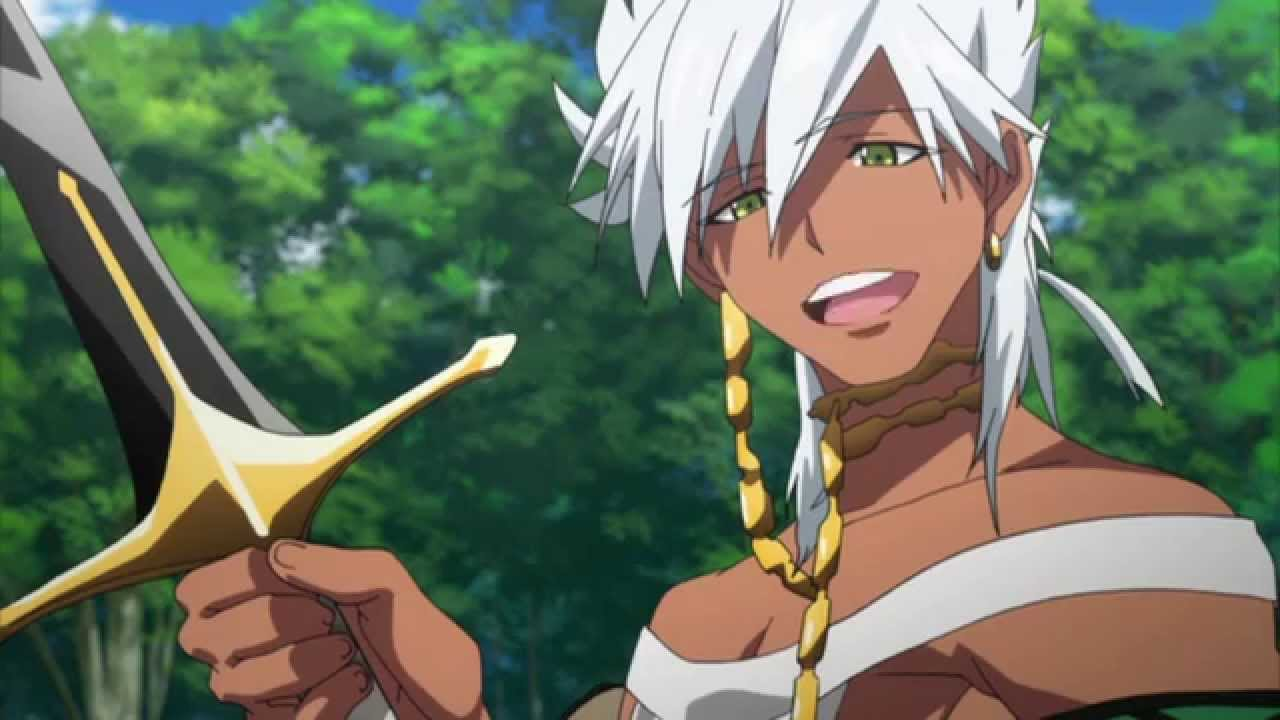 Ray Chase as Sharrkan in Magi - The Labyrinth of Magic ... Labyrinth Gif