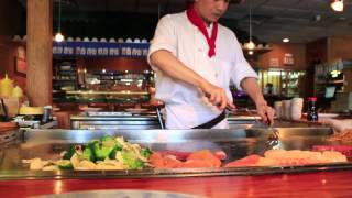 Hibachi chef live at nagoya