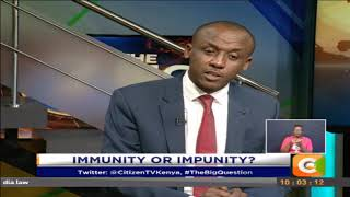 Kilonzo Jr: Governors are CEO's of counties, the buck stops with them (Part1) #TheBigQuestions