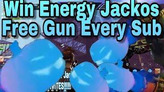 Fortnite STW Free Gun Every Sub   FREE Energy Water &Nature Jacko Giveaways