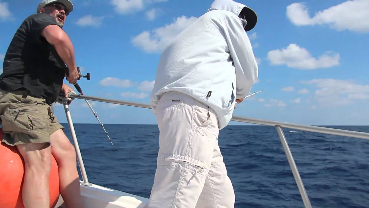 Cancun bottom fishing trip feb 27th 2012 youtube for Cancun fishing trips