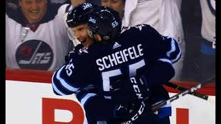 Trouba scores 31 seconds into game to fire up Jets fans