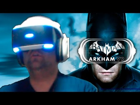 EU SOU O BATMAN – Playstation VR gameplay