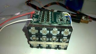 DIY 12.0V 12Ah Online UPS 18650 Li-ion Battery