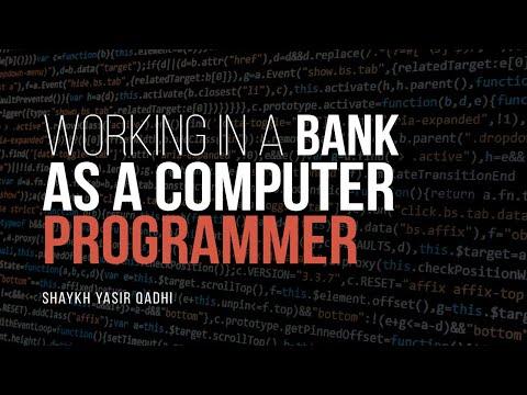 Can I Work In A Bank As A Computer Programmer? | Shaykh Yasir Qadhi | Faith IQ