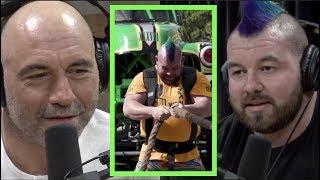 Strongman Rob Kearney Pulled 2 Monster Trucks | Joe Rogan