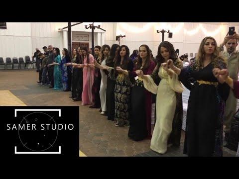 Kurdish wedding Dallas Texas 1-8-2017 (Salam Nehle)