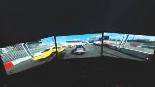 Next Car Game: Wreckfest - EyEfinity(Triple Monitor)