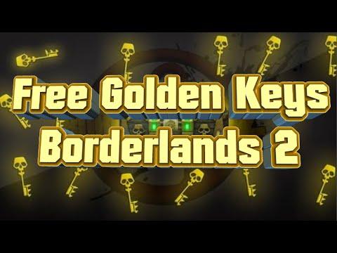Free Golden Keys Borderlands 2 (SEM HACK) - YouTube