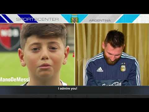 Lionel Messi gets messages from young Argentine fans   SportsCenter   ESPN