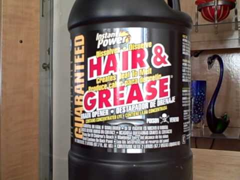 Instant Power Hair Amp Grease Clog Remover Youtube
