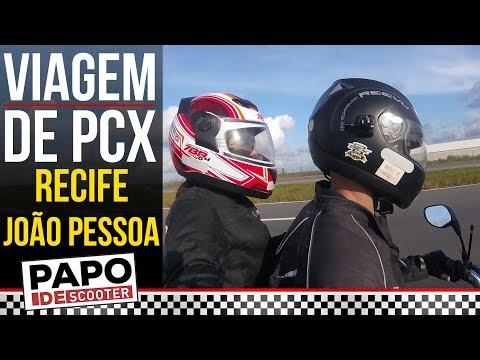 Viagem de PCX de Recife para João Pessoa - VLOG PARAÍBA AUTOSHOW