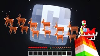 HOW TO FIND SANTA IN MINECRAFT! *WORKS!!*