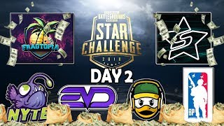 OFFICIAL ($600,000 PRIZE POOL) PUBG MOBILE STAR CHALLENGE TOURNAMENT SEMI-FINALS DAY 2