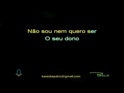 Caetano Veloso - Sozinho (acústico) - Karaokê (completo)