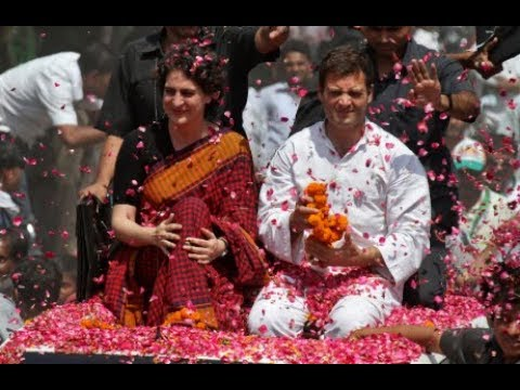 Priyanka Gandhi Vadra arrives in Lucknow, mega roadshow to begin shortly