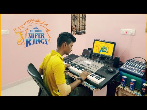 Chennai Super Kings theme 🏆🦁👑😎💛🏏🏆 | Whistle podu🗣 | CSK💛 | Direct play Instrumental | PbA