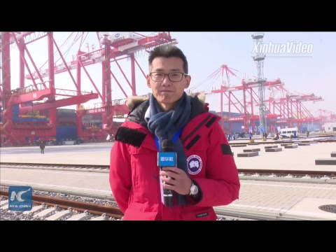 World's largest automated container terminal opens in Shangh