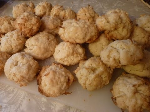 Coconut Cookies - YouTube