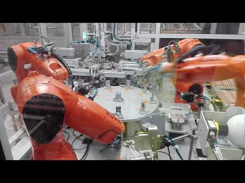 Production line for automotive