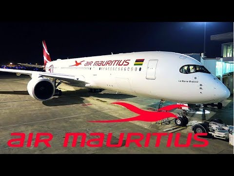 FLIGHT REPORT / AIR MAURITIUS BRAND NEW AIRBUS A350-900 / PARIS - MAURITUS