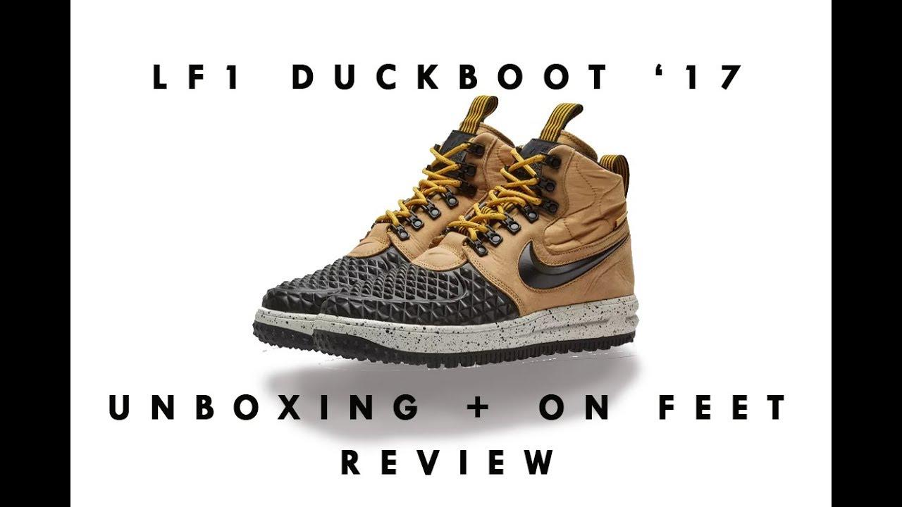 UNBOXING Nike Lunar Force 1 Duckboot 17