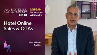 Hotel Online Sales & OTAs by Nikos Gkiokas  | Live Free Webinars Οκτώβριος 2020