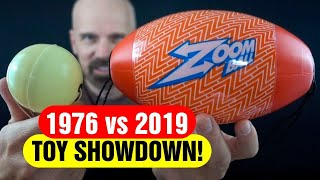 1976 Whizbee vs 2019 Zoom Ball! Toy Showdown!
