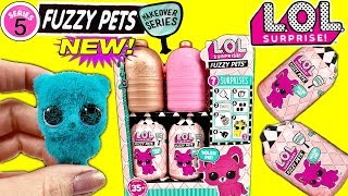 NEW LOL Surprise Fuzzy Pets For LOL Surprise Dolls LOL Surprise Makeover Series 5 LOL Dolls Pets!