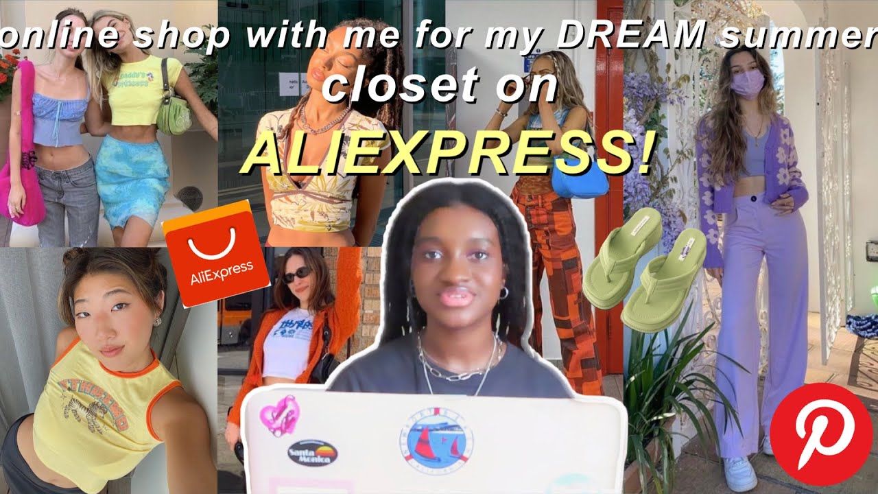 online shop with me for my DREAM summer closet on ALIEXPRESS! (+ tips on how to not get scammed)