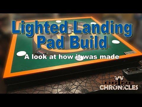 Building My Lighted Landing Pad