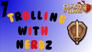 Clash of Clans: TROLLING WITH OG!
