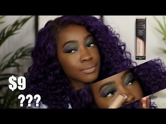 A Cut Crease Primer?? Makeup Revolution Cut Crease Canvas Eyeshadow Base