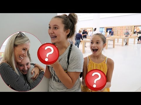 NO BUDGET AT THE APPLE STORE!