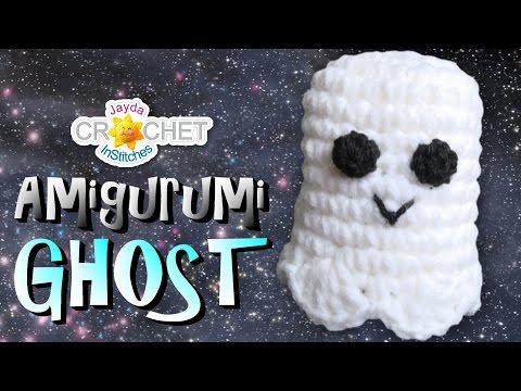 5 Little Monsters: Crocheted Ghost | 360x480