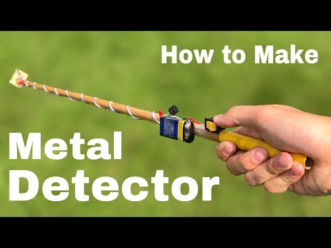 How To Make A Metal Detector At Home - Everyone Can Make - Easy To Build